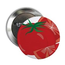 """Tomato 2.25"""" Button"""