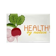 Healthy by Nature Rectangle Magnet