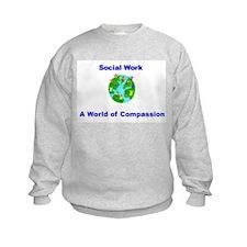 Cute Social work month Sweatshirt
