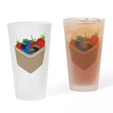 Mixed Berries Drinking Glass
