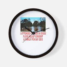 Friends In Crisis Flood Appeal 2013 Wall Clock