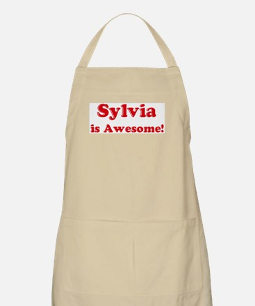 Sylvia is Awesome BBQ Apron