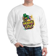 Mardi Gras Design C Sweatshirt