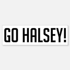Go Halsey Bumper Bumper Bumper Sticker