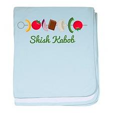 Shish Kabob baby blanket