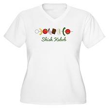 Shish Kabob Plus Size T-Shirt