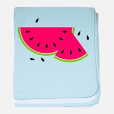 Watermelon Slice baby blanket