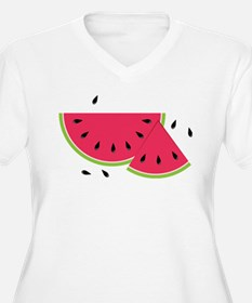 Watermelon Slice Plus Size T-Shirt