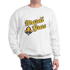 Mardi Gras Design E Sweatshirt