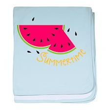 Summertime baby blanket