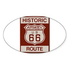 Amboy Route 66 Decal
