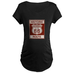 Amboy Route 66 Maternity T-Shirt