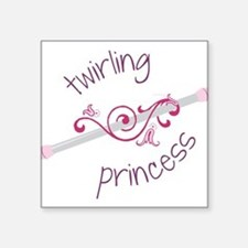 Twirling Princess Sticker