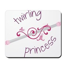 Twirling Princess Mousepad