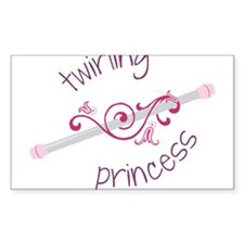 Twirling Princess Decal