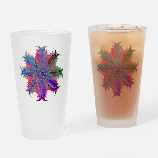 Feather Fantasy Drinking Glass