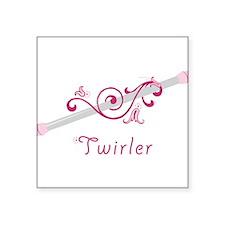 Twirler Sticker