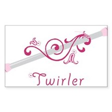 Twirler Decal