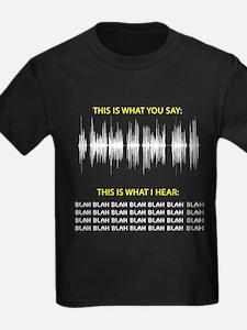 Audio Blah Blah Blah T-Shirt