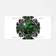 Cute Celtic knot Aluminum License Plate