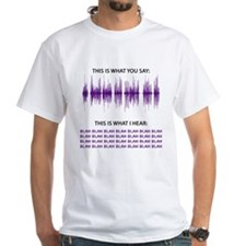 Audio Blah Blah Blah T-Shirt