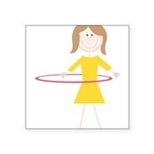 Hula Hoop Sticker