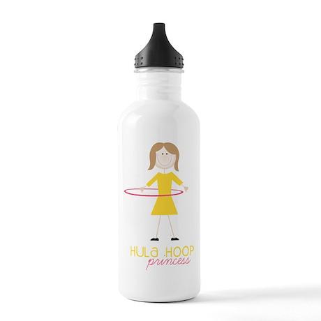 Hula Hoop Princess Water Bottle