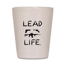 Lead Life Shot Glass