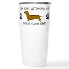 Cute Doxie Travel Mug
