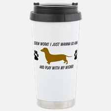 Funny Dachshunds Travel Mug