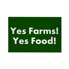 Yes Farms Bumber Sticker Magnets