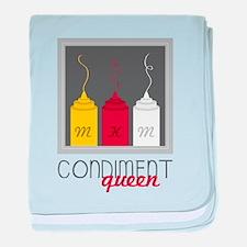 Condiment Queen baby blanket