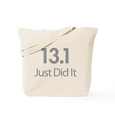 13.1 Just Did It Tote Bag