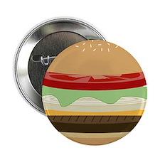 """Cheeseburger 2.25"""" Button"""