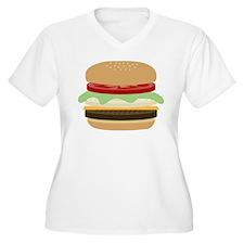 Cheeseburger Plus Size T-Shirt