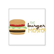 The Burger Meister Sticker