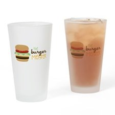 The Burger Meister Drinking Glass