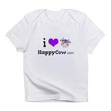 i heart HappyCow Infant T-Shirt