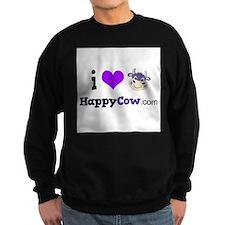 i heart HappyCow Sweatshirt