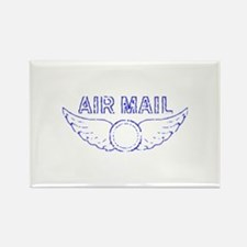 Air Mail Stamp Rectangle Magnet (10 pack)