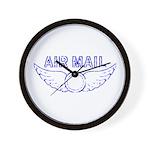 Air Mail Stamp Wall Clock