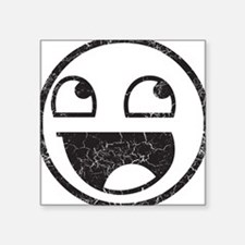 Epic Smiley Distressed Sticker
