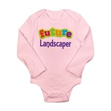Future Landscaper Long Sleeve Infant Bodysuit