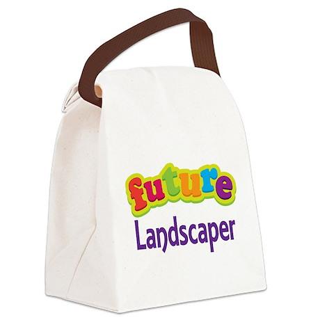 Future Landscaper Canvas Lunch Bag
