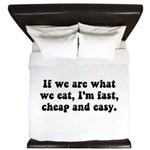 Are What Eat King Duvet