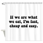 Are What Eat Shower Curtain