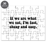 Are What Eat Puzzle