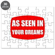 As Seen In Dreams Puzzle