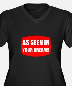 As Seen In Dreams Plus Size T-Shirt