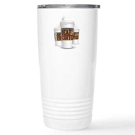 DEAFinitely a handy, Stainless Steel Travel Mug